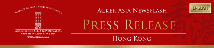 Acker Asia Newsflash Press Release Hong Kong