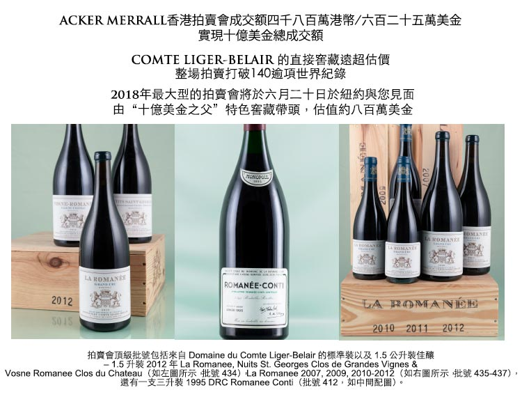 Acker Hong Kong Auction Results