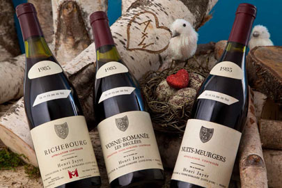 Lots 323-325 1985 Henri Jayer Richebourg Vosne-Romanee les Brulees and Nuits St. Georges les Meurgers & February NYC Auction - Acker Merrall u0026 Condit