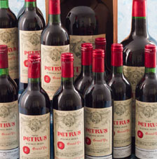 Lots 411 415 416 12B 1982 Petrus A Double Magnum Of 1995 Jeroboam 1997 In OWC