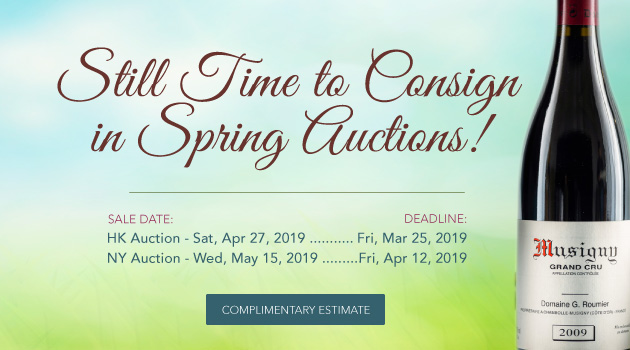 Now Accepting Collections for April and May Auctions!