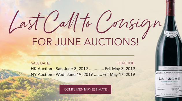 Last Call for June Auctions