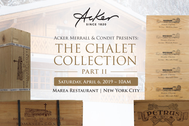 Chalet Collection 2019