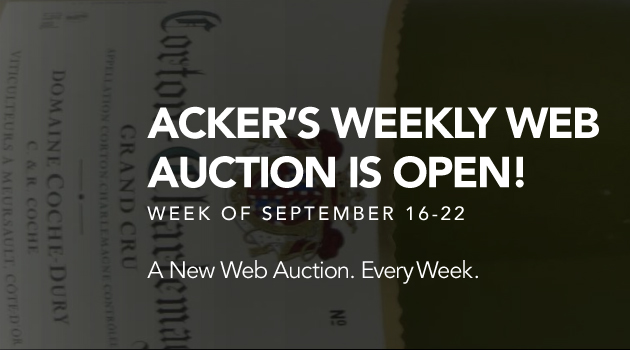 September Web Auction