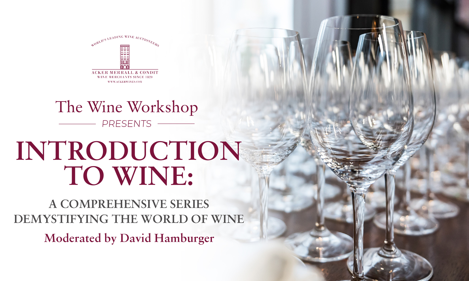 Introduction to Wine:A Comprehensive Series Demystifying the World of Wine