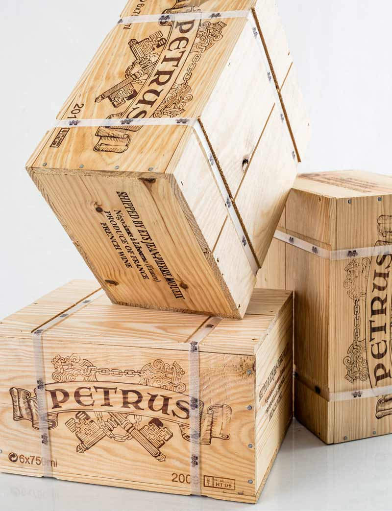 Lots 662-663: 12 bottles 2009 and 6 bottles 2010 Chateau Petrus in OWCs