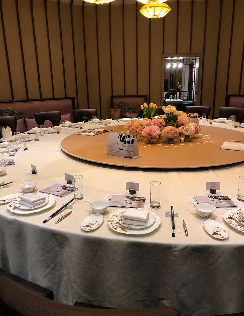 The Table Was Set
